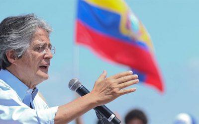 Guillermo Lasso promete regularizar a migrantes venezolanos en Ecuador