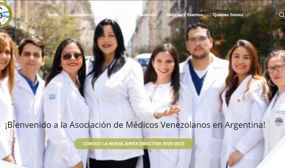 Asociación venezolana de profesionales de la salud en Argentina