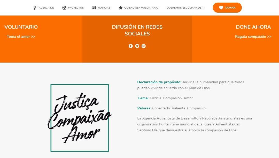 ADRA – AGENCIA ADVENTISTA DE DESARROLLO E RECURSOS ASISTENCIALES, ONG que presta apoyo a venezolanos en Brasil