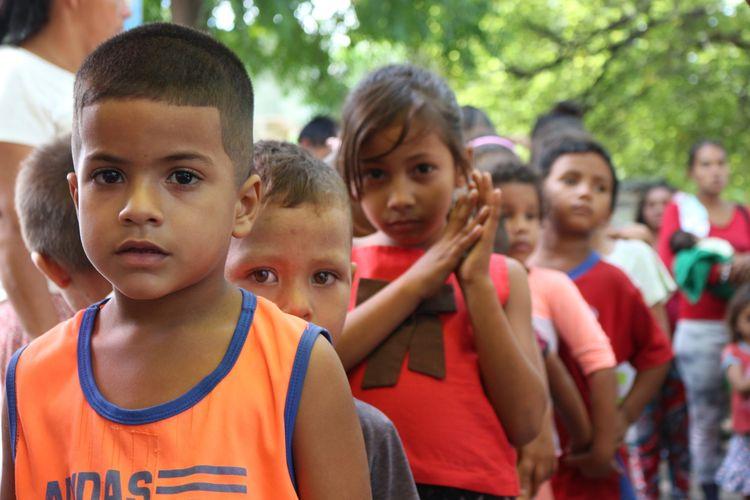 ONG en Maicao brinda apoyo a los niños venezolanos que cruzan la frontera de la Guajira
