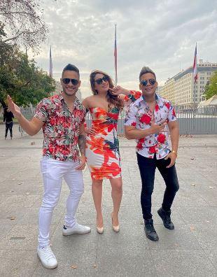 Conductores de Chilezuela, nuevo programa de entretenimiento de La Red, y orientación, dirigido a lo venezolanos en Chile.