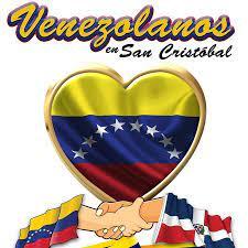 venezolanos en san cristobal