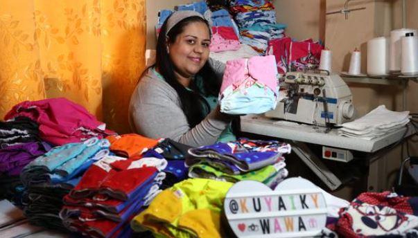 María Dorta, emprendedora venezolana que produce pañales ecológicos