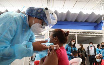 Inició la vacunación contra covid-19 de migrantes venezolanos